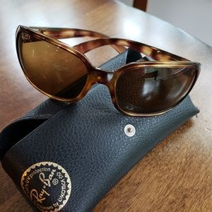 Ray-Ban Polarized Tortoise Shell Glasses